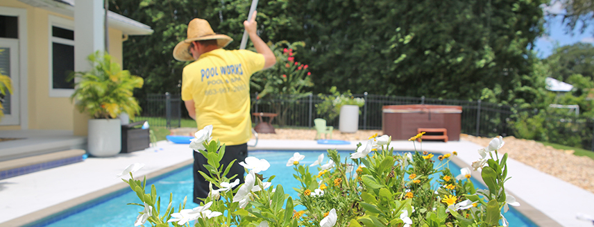 pool cleaning in Lake Wales FL